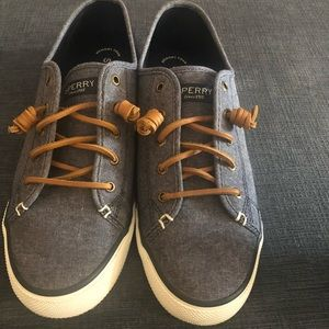 Top-Sider Sperry slip on shoe size 10. Worn once.